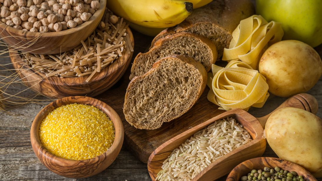 carbohydrates rich in fibre