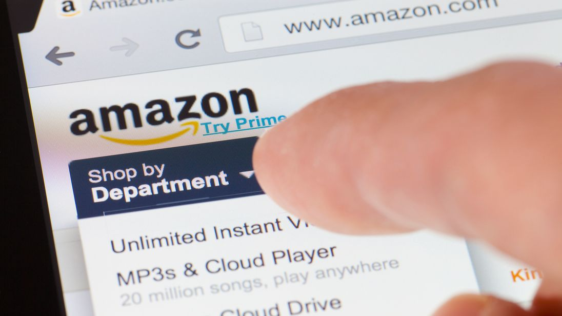 It is the first time Amazon - founded by Jeff Bezos in 1994 - has held the top spot
