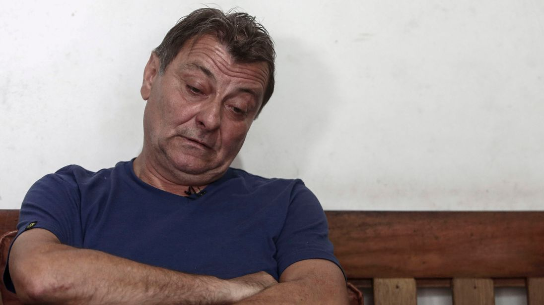 Italian fugitive Cesare Battisti caught in Bolivia after decades on the run