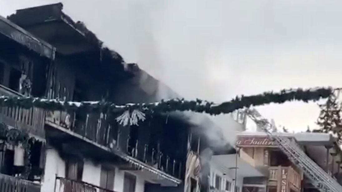 Two killed in fire at Courchevel ski resort in France