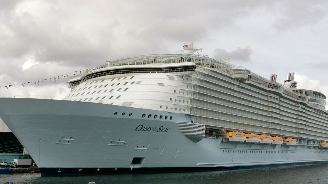 Oasis of the Seas is one of the world's largest cruise ships