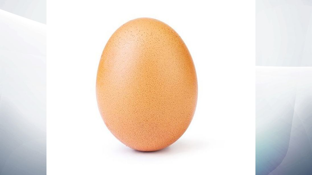Egg beats out Kylie Jenner for most-liked Instagram photo