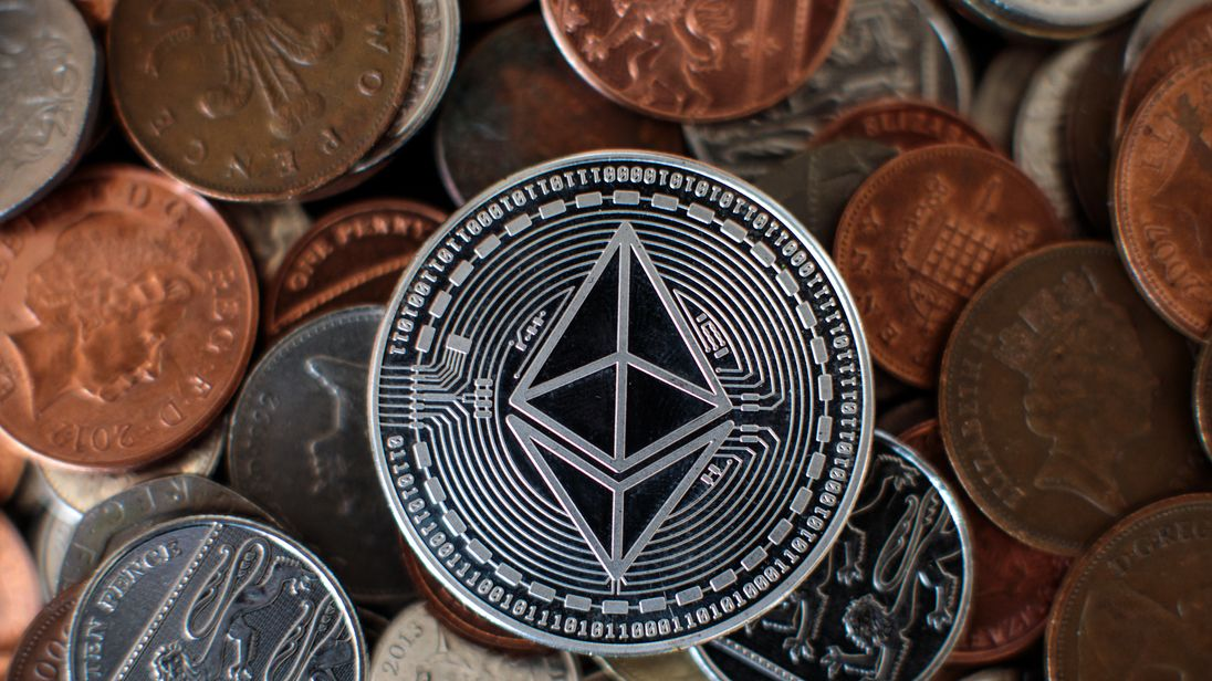 LONDON, ENGLAND - APRIL 25: In this photo illustration of the ethereum cryptocurrency 'altcoin' sits arranged for a photograph on April 25, 2018 in London, England. Cryptocurrency markets began to recover this month following a massive crash during the first quarter of 2018, seeing more than $550 billion wiped from the total market capitalisation. (Photo by Jack Taylor/Getty Images)