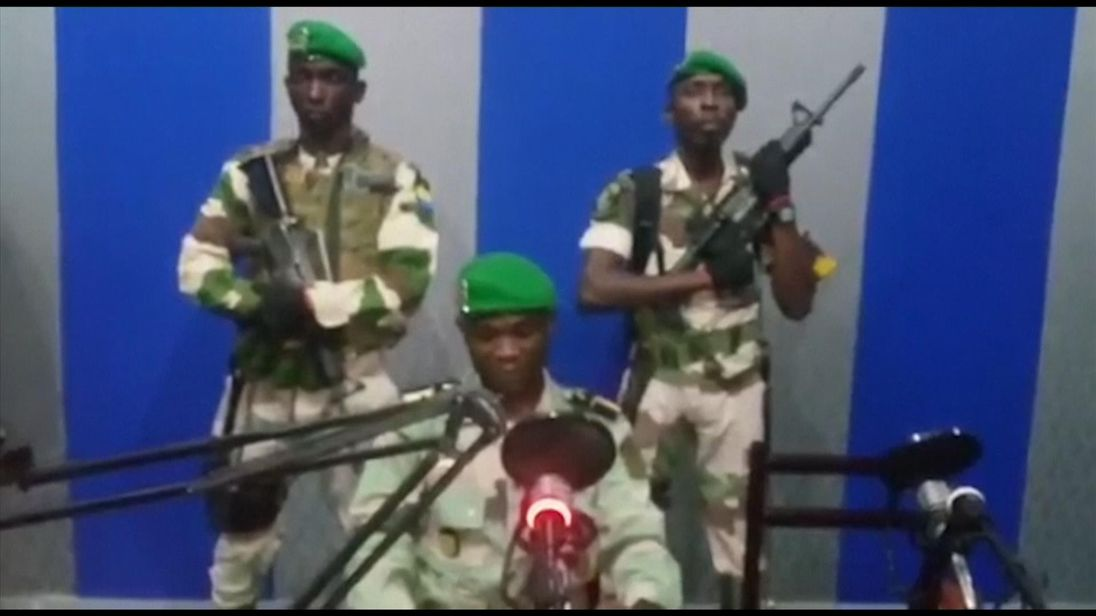 Gabon govt says 'situation under control', army rebels seized