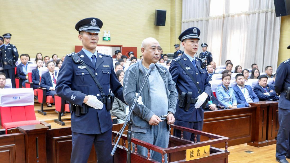 Chinese 'Jack the Ripper' executed for slayings of 11