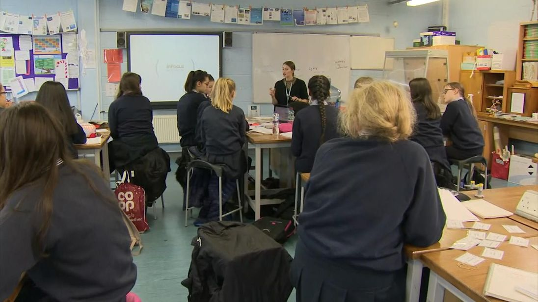 Ripon Girls' High School has a higher percentage of disadvantaged pupils than most grammars