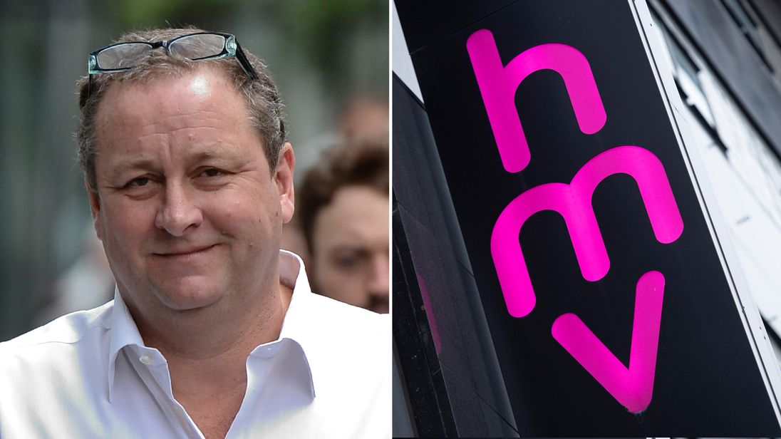 Sports Direct founder Mike Ashley in talks to buy HMV