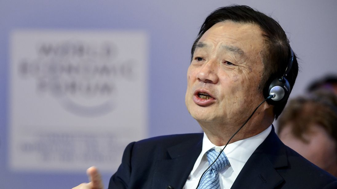 Huawei boss Ren Zhengfei denies espionage allegations in rare public announcement