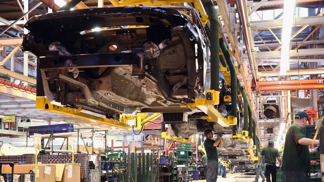 Inside Jaguar Land Rover Factory Plant
