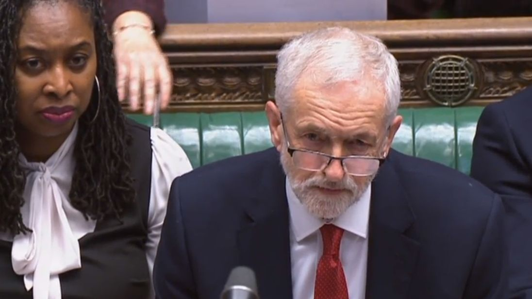 Jeremy Corbyn is under pressure to back a second EU referendum