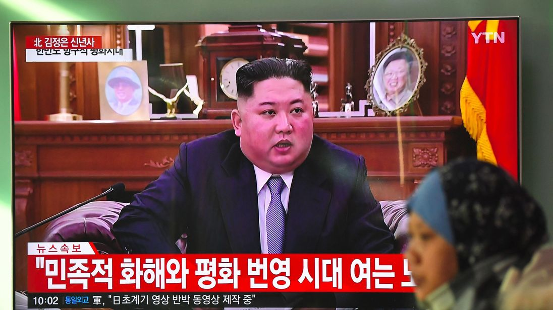 Seoul Welcomes Kim's New Year Address