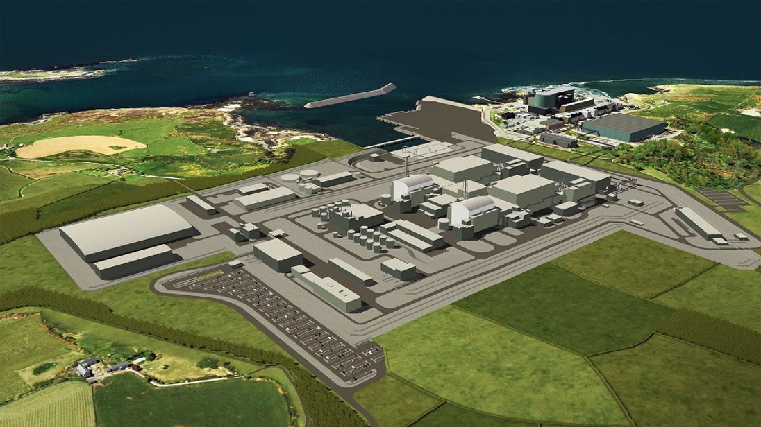 Hitachi said 'no formal decision' had been taken on the Wylfa Newydd project