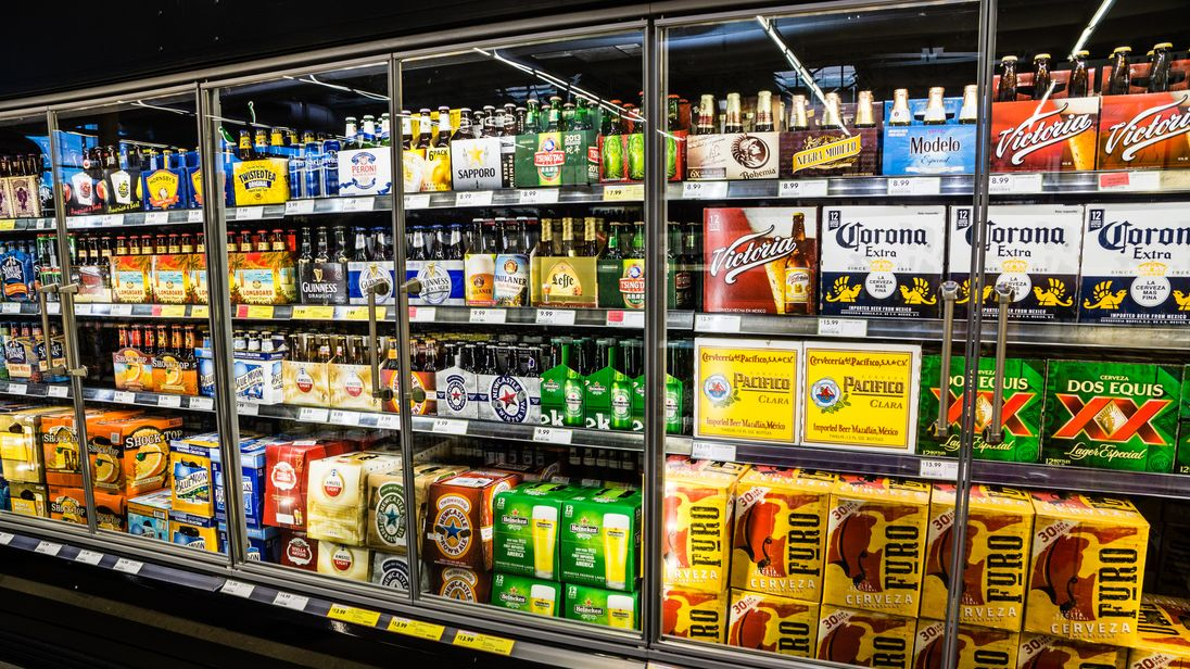 The 'sin' tax means 24 cans of beer will now cost more than £80