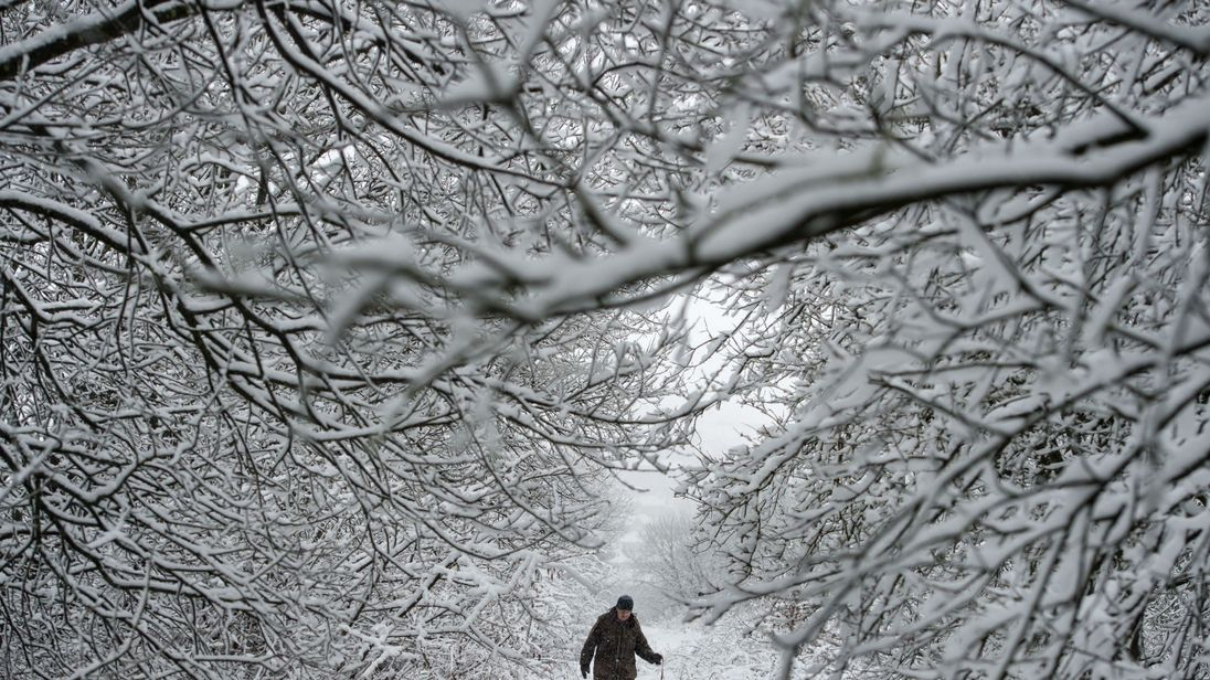 Could the UK see the return of last year's 'Beast from the East'?