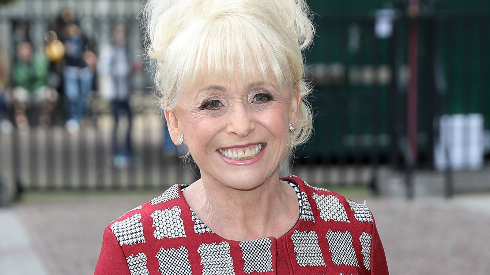 Dame Barbara Windsor comfortable and happy in care home