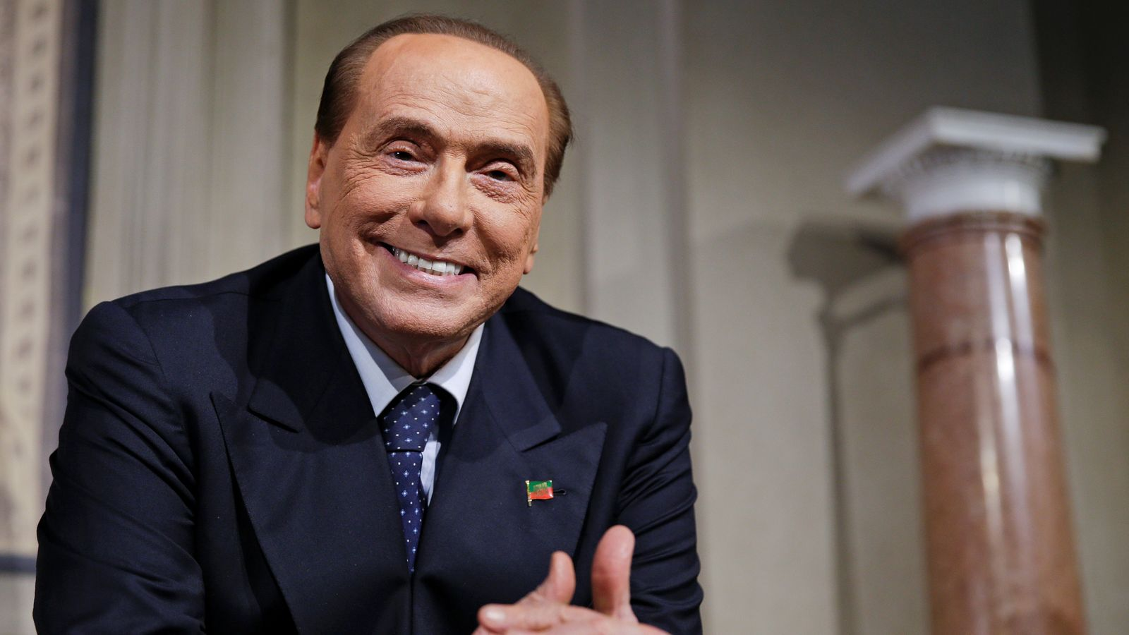 'Europe needs change': Berlusconi running for EU Parliament
