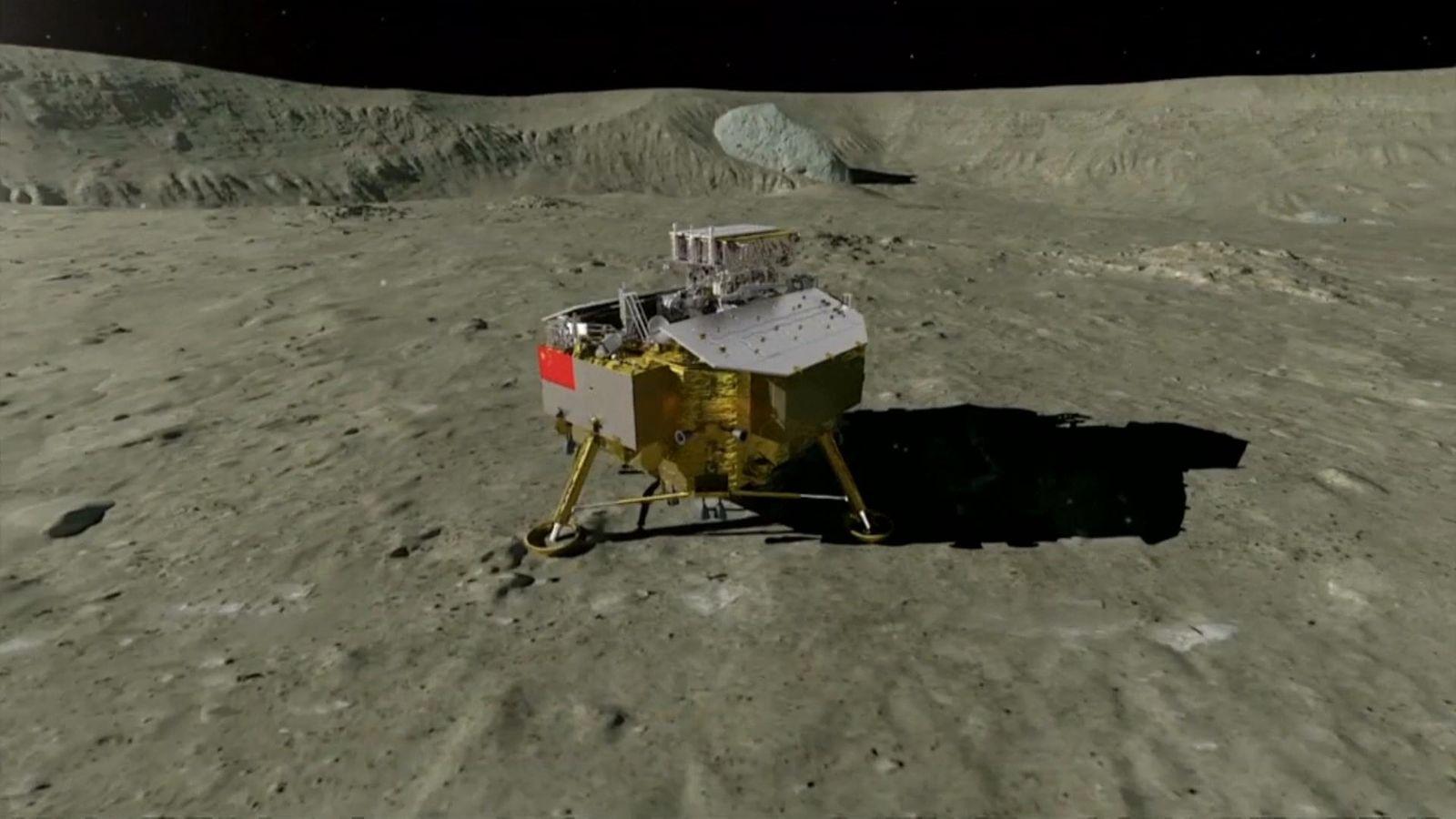 Moon landing date in Sydney