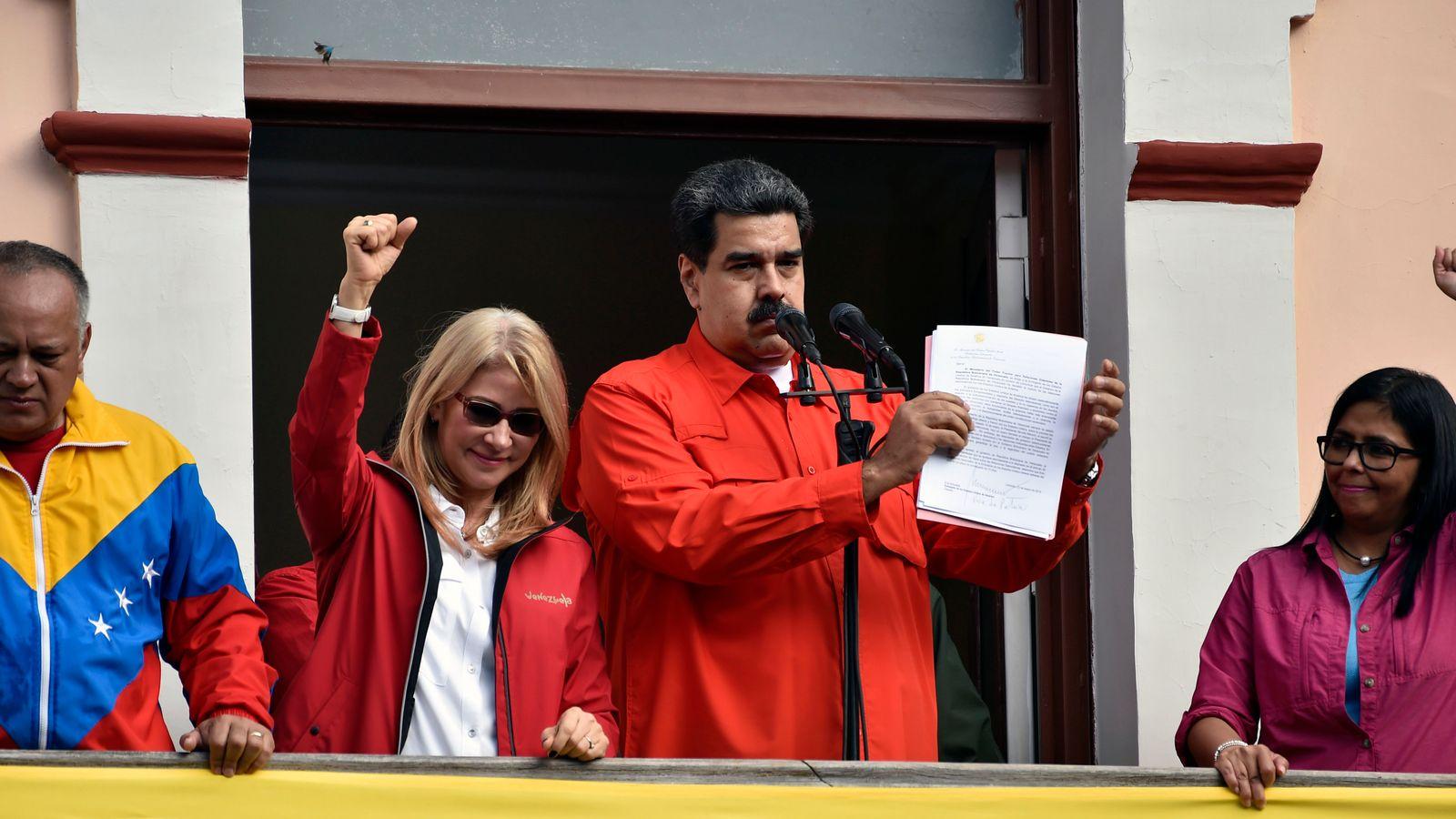 Venezuela Putuskan Hubungan Diplomatik dengan AS Setelah Upaya Kudeta Gagal