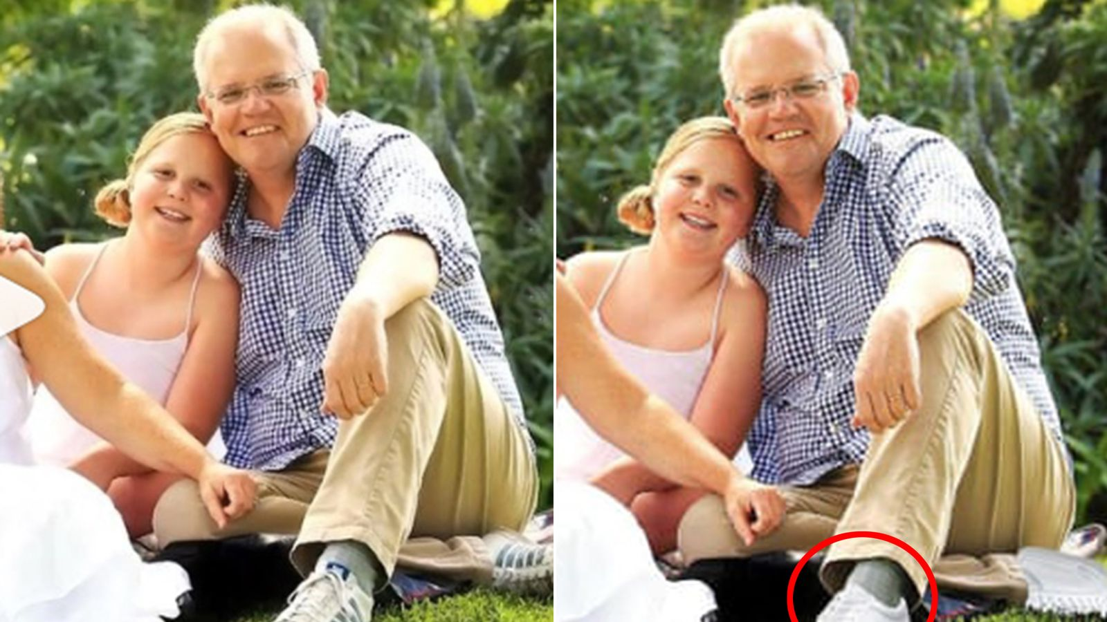 Oz PM mocked over two left feet Photoshop fail