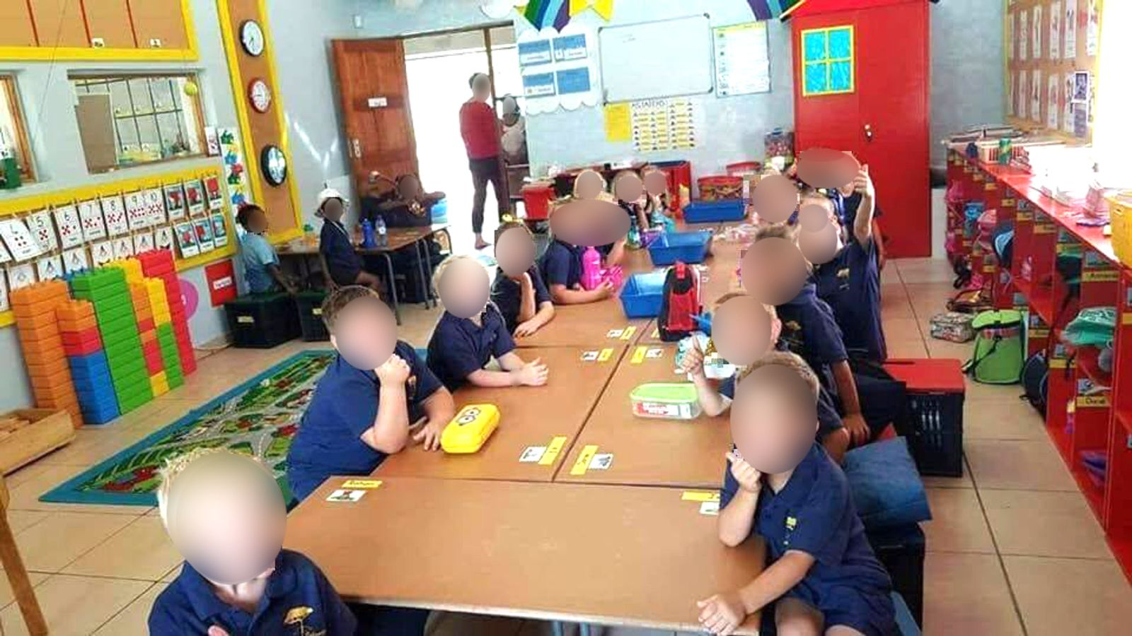 Teacher accused of splitting pupils by race suspended