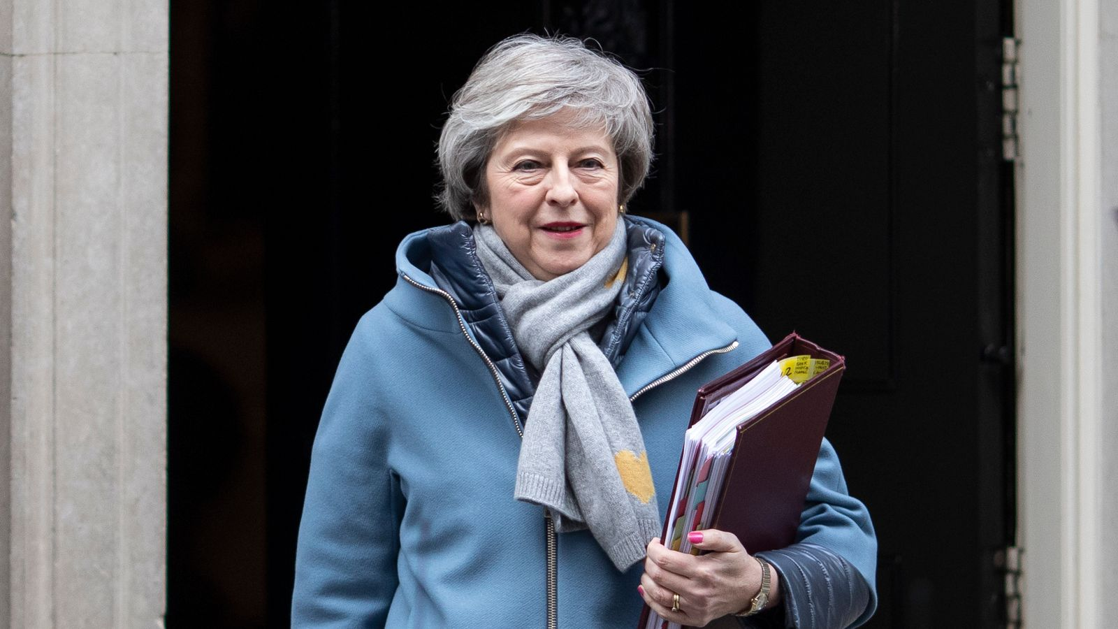 May warns MPs against 'breach of trust in our democracy'