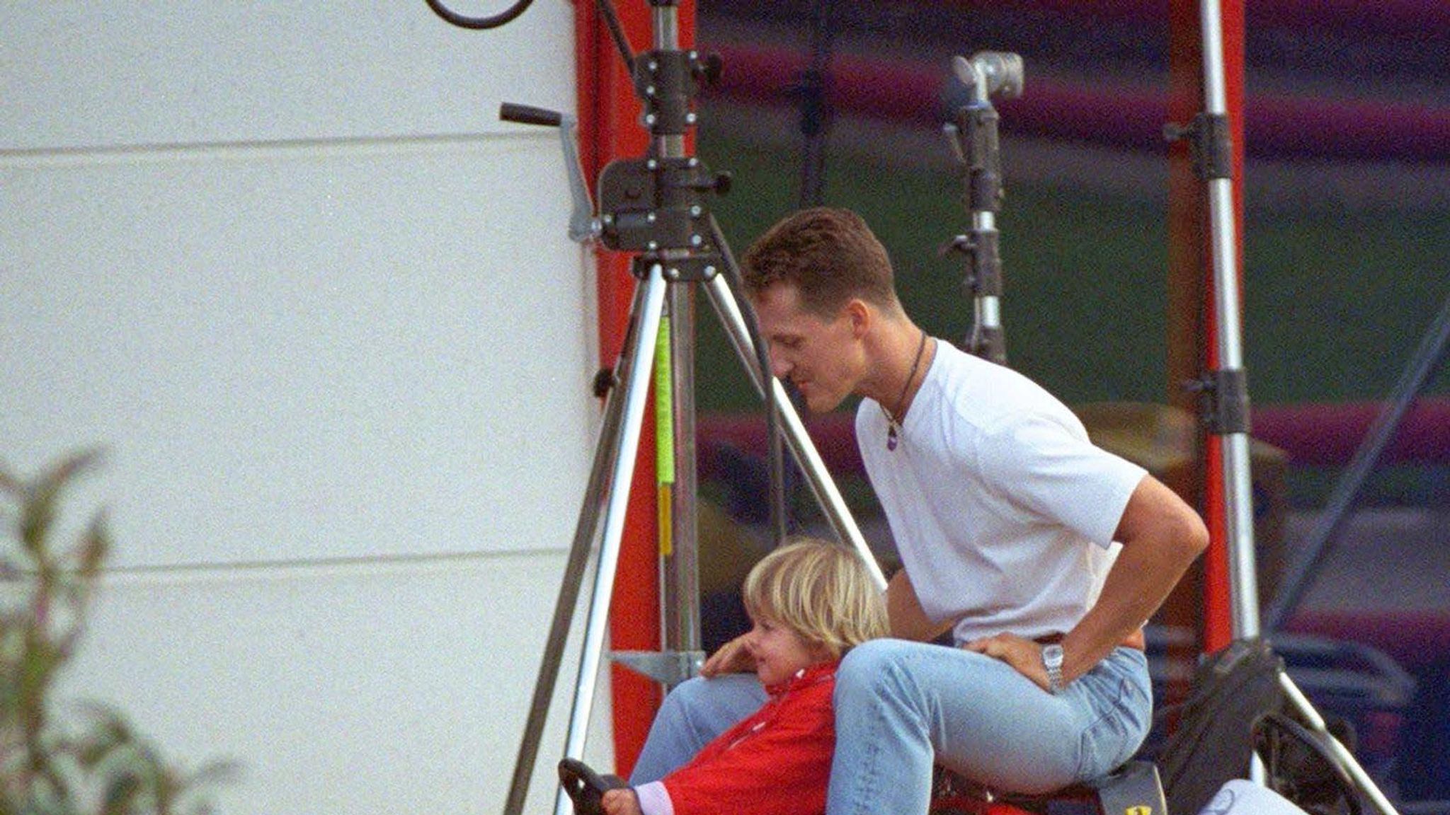 Michael Schumacher S Daughter Marks F1 Legend S 50th Birthday With Touching Post World News Sky News