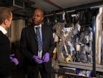 Sky's Tom Parmenter and DCS Matt Ward inside the Counter Terrorism Unit