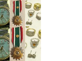 A Kuwait War medal is among the haul. Pic: Cambridgeshire Constabulary