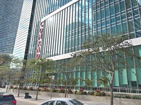 The woman worked as a pot washer at the Conrad Miami for more than a decade. Pic: Google Streetview