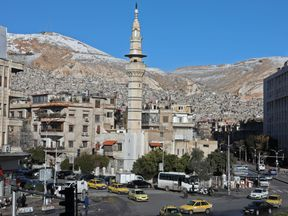 The incident could be the first in Damascus for a year. File pic