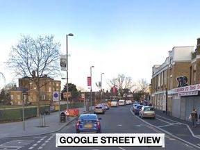 The woman was struck on Forest Road, Walthamstow