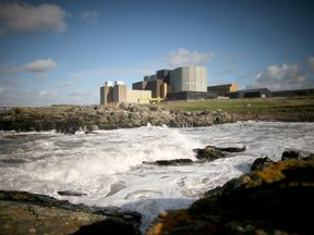 Wylfa nuclear power station in Tregele, Anglesey