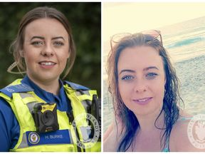 West Midlands PCSO Holly Burke, 28, was killed by a driver being chased by police in Bearwood, Birmingham. Pic: West Midlands Police