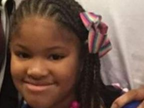 Jazmine Barnes was with her mother and three of her sisters
