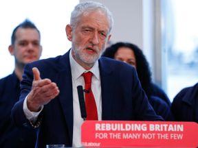 Jeremy Corbyn speaks on Brexit in Wakefield