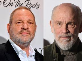 Harvey Weinstein and John Malkovich