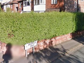 The 16-year-old was found in a building near Brookside Drive in Kersal, Salford. Pic: Google Streetview