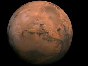 Mars is also known as the red planet