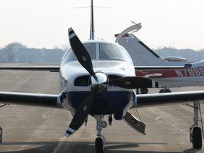 The single-engined Piper Malibu can carry up to six people