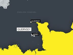 The plane was north of Alderney when it disappeared