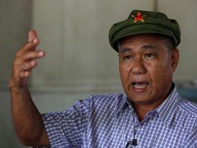 Former communist and political prisoner Surachai Danwattananusorn in 2010