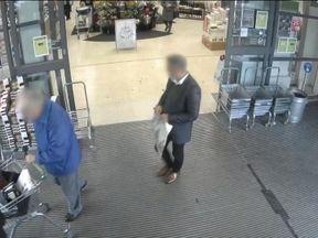 The crime happened at Waitrose in West Byfleet