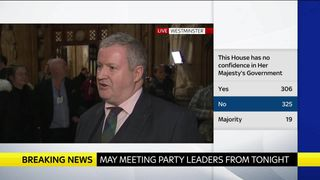 Ian Blackford sets out his red lines for Brexit talks with Theresa May after the PM won the government's confidence vote.