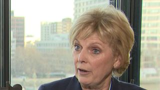 Anna Soubry says the barracking she received from protesters while approaching parliament went beyond what we should tolerate as a democratic society