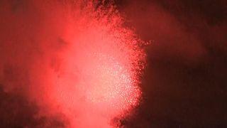 Edinburgh celebrates New Year 2019 with a dazzling fireworks display