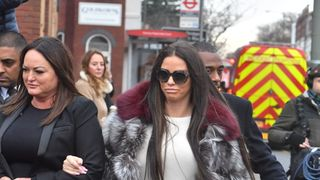 Katie Price pleaded not guilty Bromley Magistrates' Court