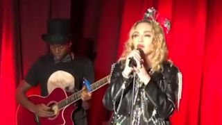 Madonna makes surprise NYE appearance at New York's Stonewall Inn