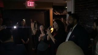 Hours after she was sworn in, new Democrat Congresswoman Rashida Tlaib swore while pushing for the impeachment of President Trump.