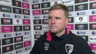 Howe hails 'disciplined' Bournemouth
