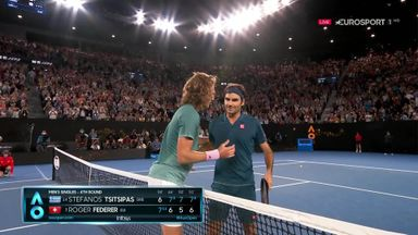 Federer knocked out of Aus Open